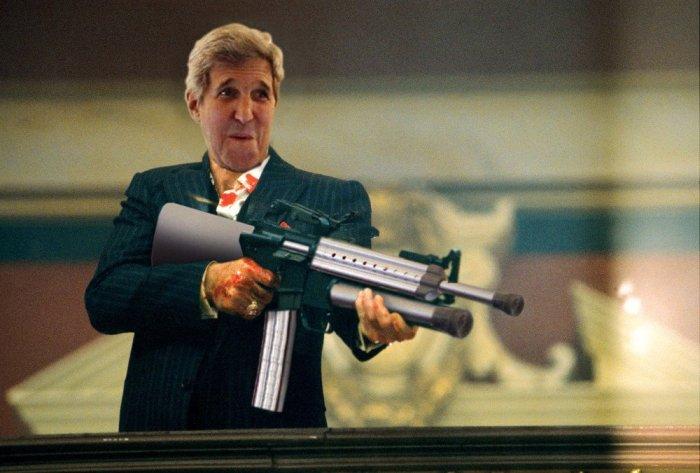 John Kerry And His Crutch Gun Got The Photoshop Treatment They Deserve (22 pics)