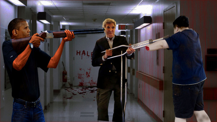 John Kerry And His Crutch Gun Got The Photoshop Treatment They Deserve (22 pics)