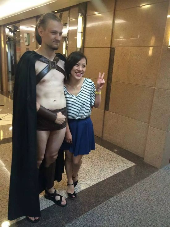 Spartan Warriors Arrested In Beijing After Publicity Stunt Goes Wrong (12 pics)