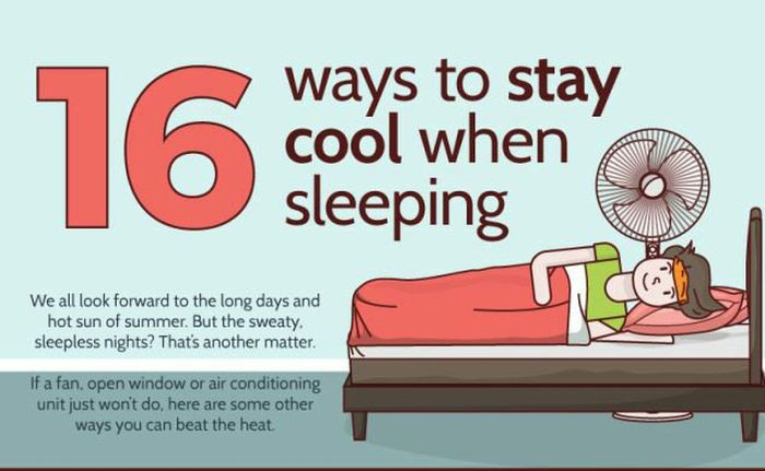16 Ways You Can Stay Cool While Sleeping In The Summer Heat (6 pics)