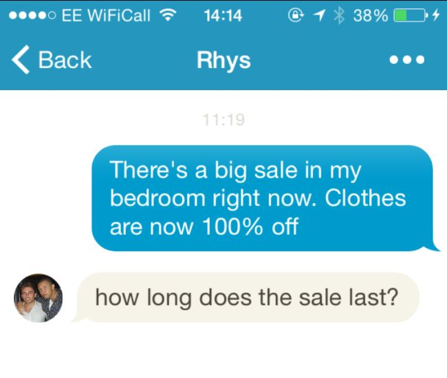 Icebreaker Texts That Are As Smooth As Silk (10 pics)