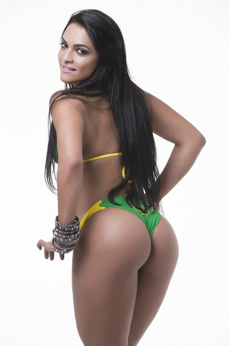 See The Beautiful Candidates And Beautiful Butts Of Miss Bumbum 2015 (27 pics)