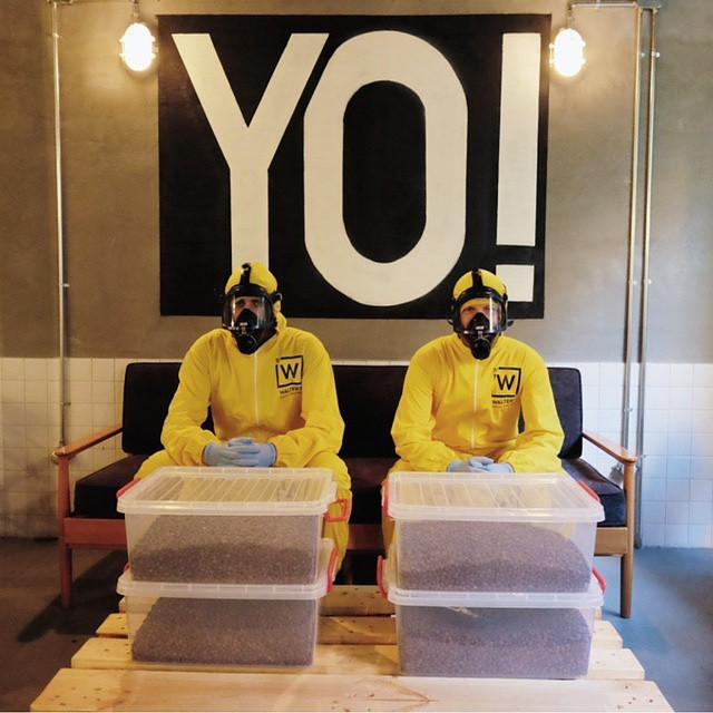 Tready Lightly When You Visit This Breaking Bad Themed Coffee Shop (13 pics)