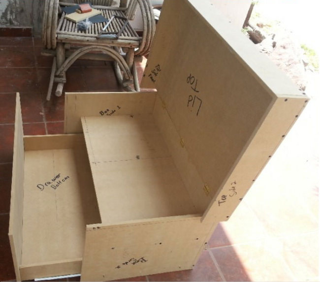 This diy shoe box organizer is the perfect gift for your for Diy shoe storage with cardboard