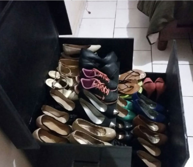 This DIY Shoe Box Organizer Is The Perfect Gift For Your Girlfriend (8 pics)