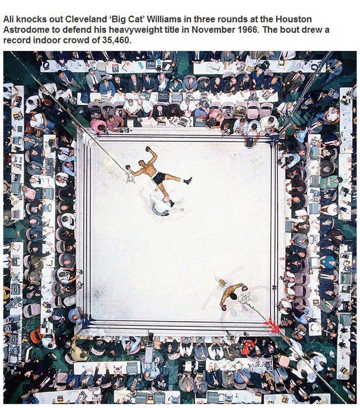 Incredible Pictures That Captured Unforgettable Sports Moments (27 pics)