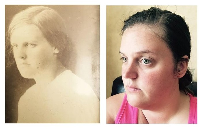 People That Look Eerily Similar To Their Long Lost Relatives (12 pics)