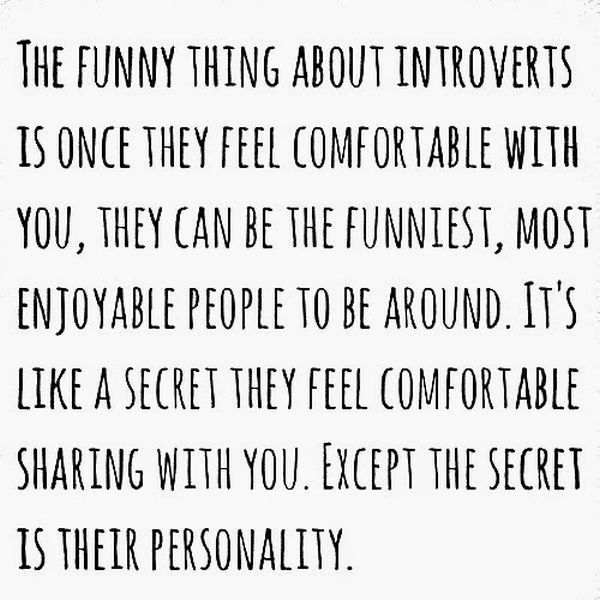 Funny Quotes About Being Shy: Those Special Moments In Life That Only Introverts Can