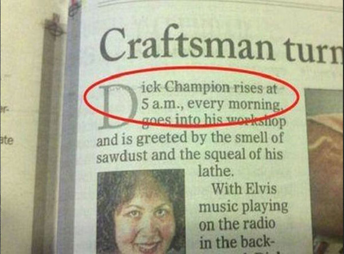 The Funniest And Most Ironic Dick Names Ever (31 pics)