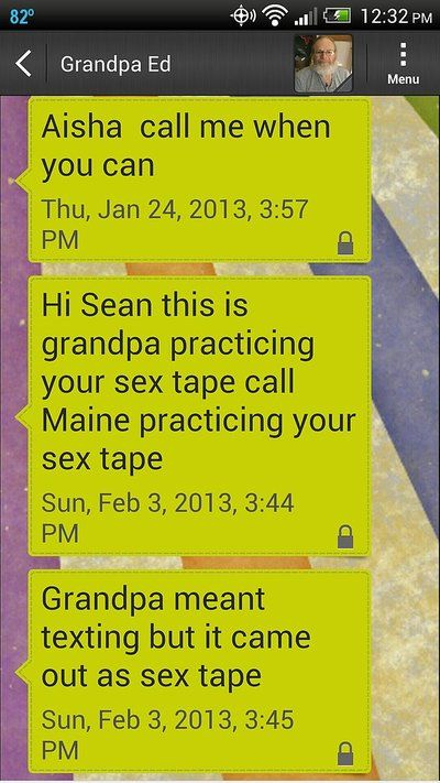 20 Times Grandparents Sent Hilarious Text Messages (20 pics)