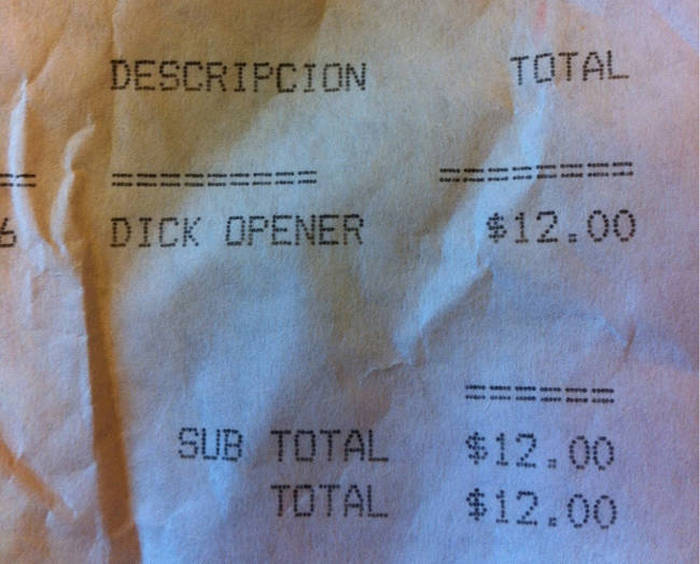 Receipts That Are Actually Worth Keeping (29 pics)