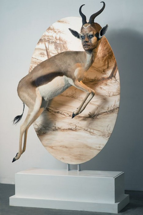 Taxidermy With Human Faces Is Terrifying (30 pics)