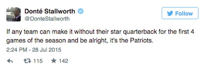 The Internet Reacts To Tom Brady's 4 Game Suspension Being Upheld (15 pics)