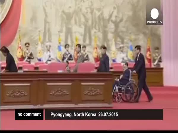 Veterans Meet Kim Jong-un