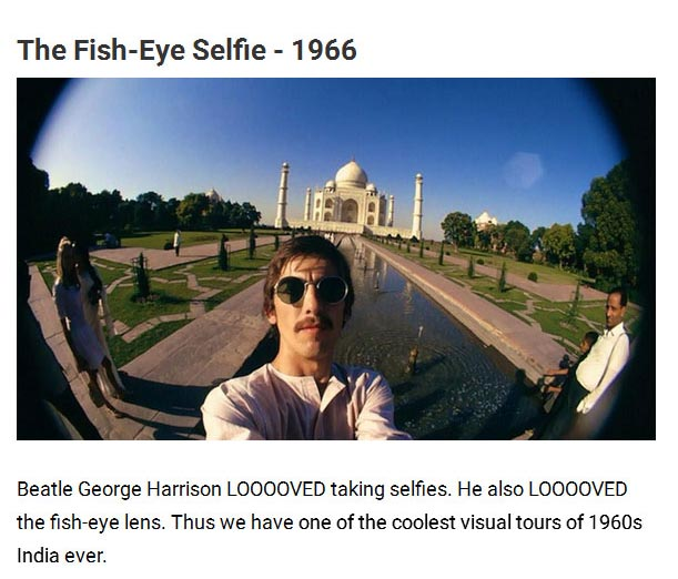 See The Evolution Of The Selfie In 13 Historical Snapshots (14 pics)