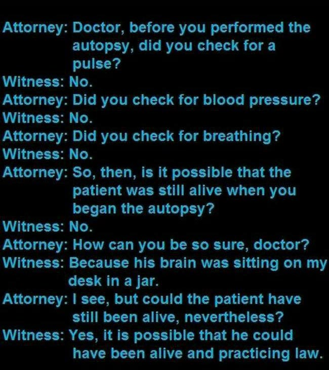 You Won't Believe The Things That People Say In Court Rooms (9 pics)
