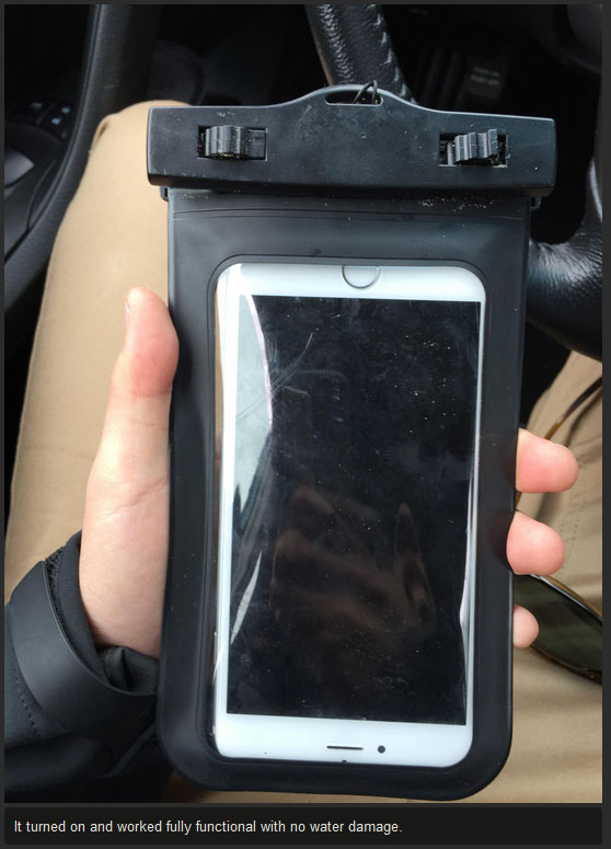This Guy Lost His iPhone In The Ocean Then Got It Back Over A Month Later (8 pics)