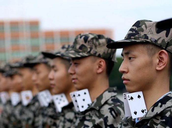 Military Training Regimens In China (7 pics)