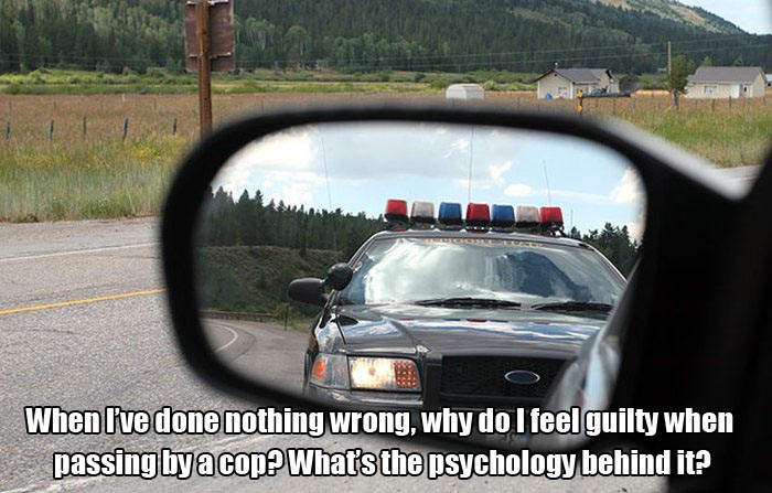The Psychology Behind Why We're Afraid Of Police (2 pics)