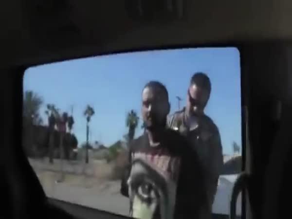 Girl vs Police Officer