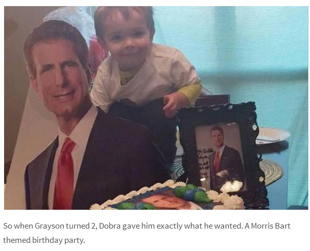 This Two Year Old Kid Wanted A Personal Injury Lawyer Themed Party (5 pics)