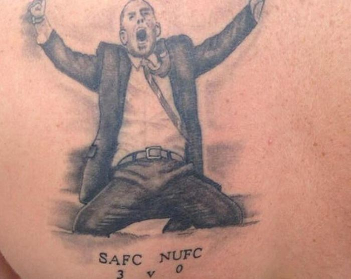 Football Fans Show Their Love Of The Game With Tattoos (18 pics)