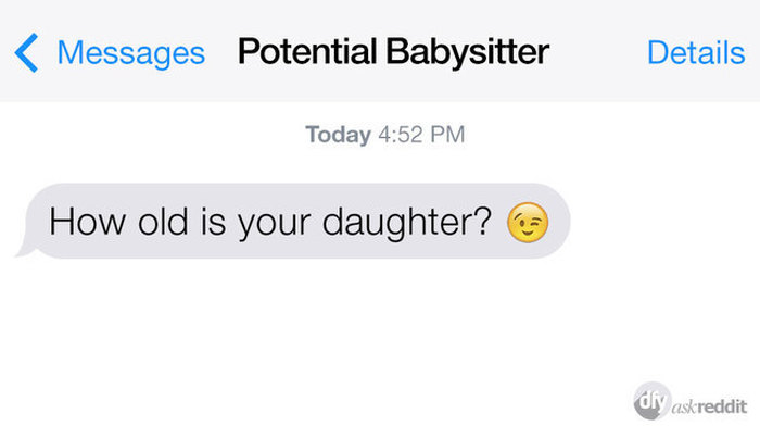 Accidental Winky Faces Turn Innocent Texts Into Awkward Conversations (15 pics)