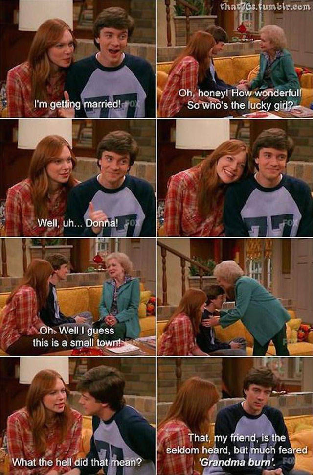 These Memories And Moments Will Make You Miss That 70s Show (36 pics)