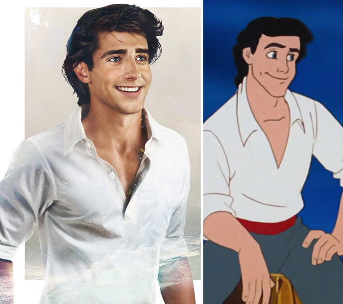 This Is What Disney Princes Would Look If They Were Real (8 pics)