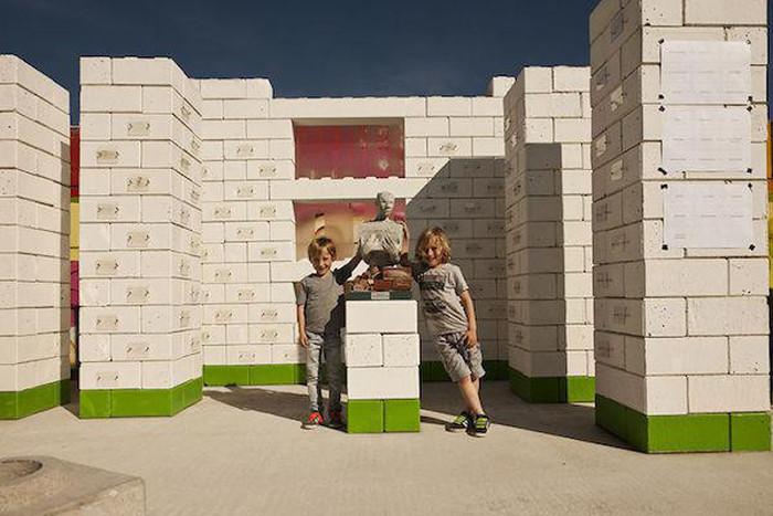 Company Turns Disaster Debris Into Real Life Lego Blocks (9 pics)
