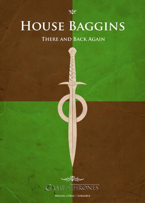 If Famous Pop Culture Characters Had Their Own Game of Thrones House Symbols (16 pics)