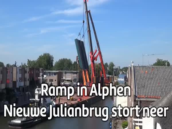Collapse Of Cranes In The Netherlands