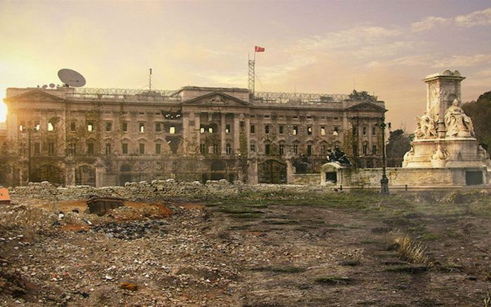 What The World Would Look Like Before And After The Apocalypse (56 pics)