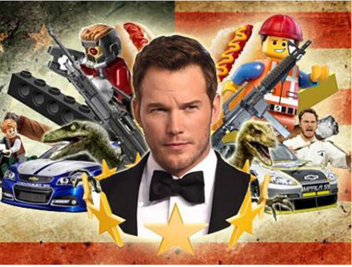 Chris Pratt Asked The Internet To Design His Facebook Header Image (11 pics)