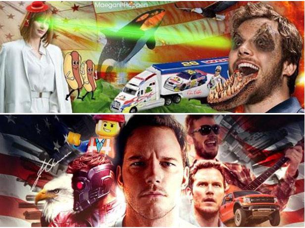 Chris Pratt Asked The Internet To Design His Facebook Header Image (11 pics)