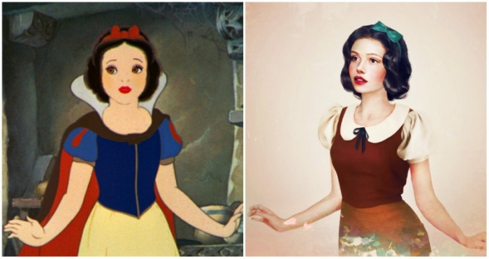What Disney Princesses Would Look Like If They Were Real (14 pics)