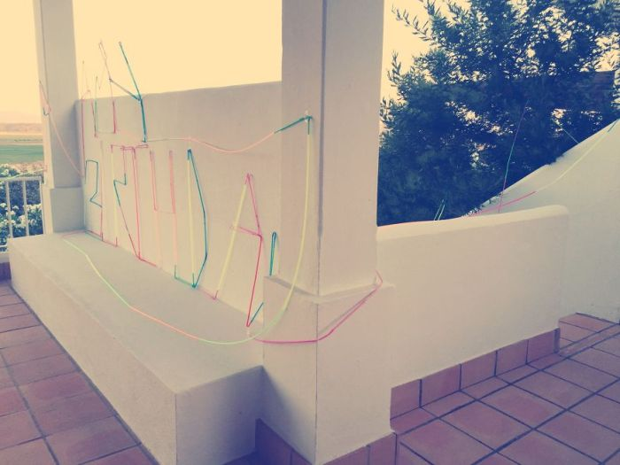 Creative Dad Builds The Coolest Crazy Straw Ever For His Daughter's Birthday (7 pics)