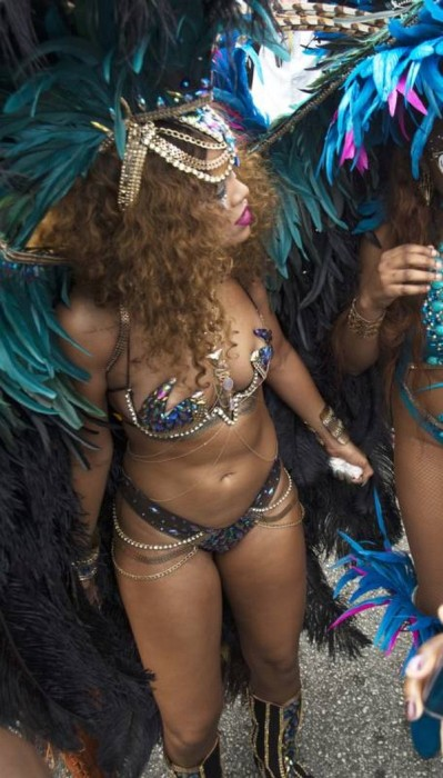 Rihanna Showed Off Some Serious Skin When She Partied In Her Home Of Barbados (19 pics)