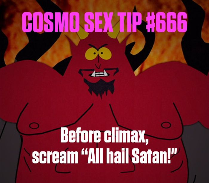 These Are The Secret Sex Tips That Cosmo Doesn't Want You To Know (19 pics)