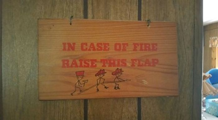 What To Do When There's A Fire (2 pics)