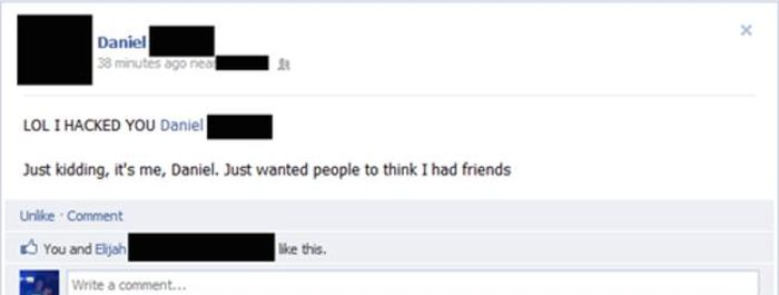 Forgetting To Log Out Of Facebook Was A Big Mistake (29 pics)