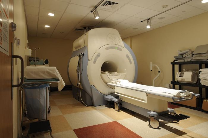 Apparently Someone Forgot The MRI Machine Is A Giant Magnet