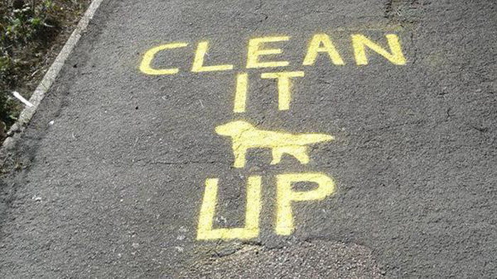 If You Don't Pick Up Your Dog's Poop The Turdinator Will Shame You (4 pics)