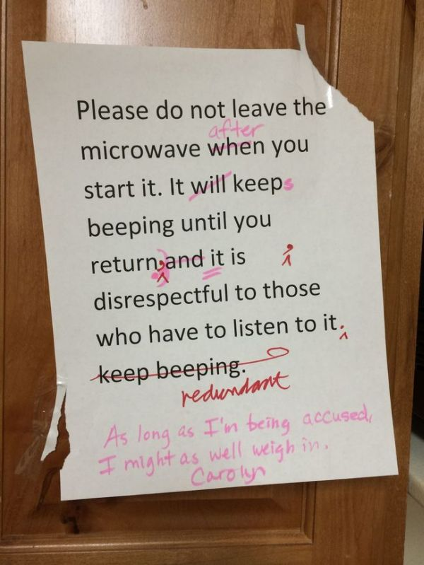 Funny Notes You Wish You Could Find Around Your Office (26 pics)