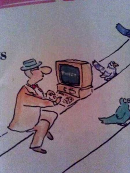 Magazine From 1998 Predicts The Invention Of Twitter (2 pics)