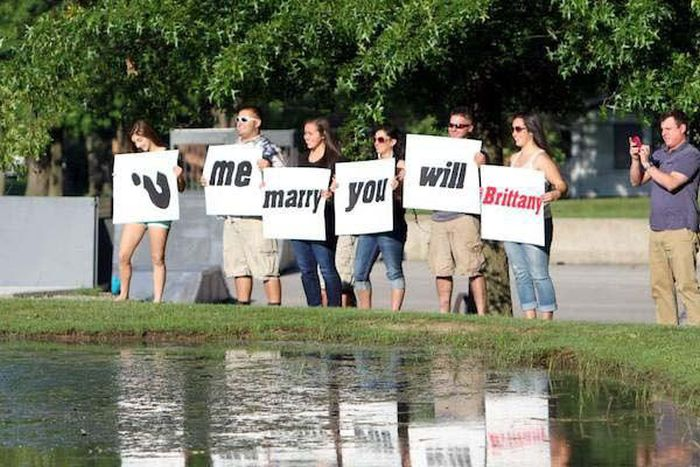 The Trashiest Marriage Proposals Of All Time (19 pics)