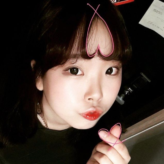 Bangs In The Form Of Hearts Is A New Fashion Trend In South Korea (14 pics)