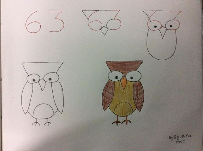 Easy Tricks And Tips You Can Use To Teach Your Kid How To Draw (20 pics)