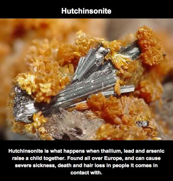 These Are The Deadliest Rocks On The Planet (11 pics)