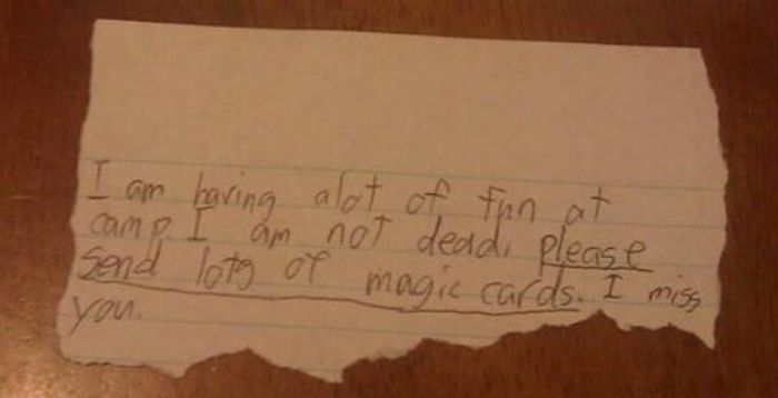 When Kids Send Overly Dramatic Letters From Camp (23 pics)
